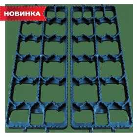 """Протибуксувальний пристрій для автомобіля """"ТРАК"""" 500 х 170 х 30 мм (комплект 2 шт.)"""
